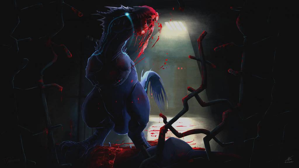 Nycta's halloween by Ernunoob