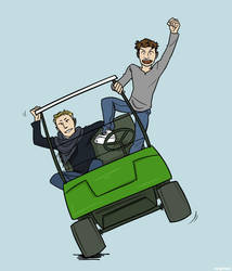 german nt: golf cart by simply-irenic