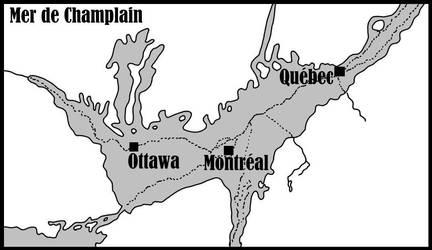 Mer De Champlain by Cousture