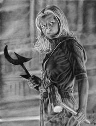 Buffy the Vampire Slayer by Leuka727