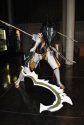 White Warrior by sadstoryteller