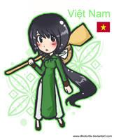 Aph - Chibi Vietnam by DinoTurtle