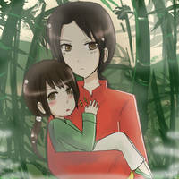 APH - Bamboo Forest by DinoTurtle
