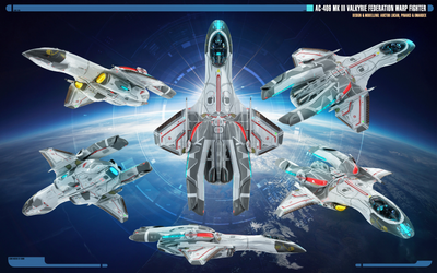 Overview   Mk III Valkyrie Warp Fighter by Auctor-Lucan