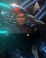 Commander Carrigan Trent, First Officer by Auctor-Lucan