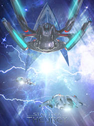 Ion Storm Poster   Star Trek: Theurgy by Auctor-Lucan