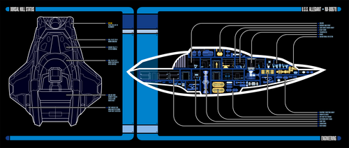 U.S.S. Allegiant NX-80978   LCARS MSD by Auctor-Lucan