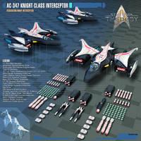 AC-347 Knight-class Interceptor by Auctor-Lucan