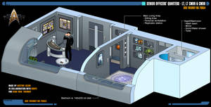 Senior Officers' Quarters | Star Trek: Theurgy by Auctor-Lucan