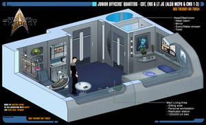 Junior Officers' Quarters | Star Trek: Theurgy by Auctor-Lucan