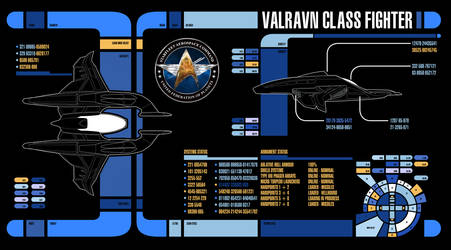 MSD: AC-477 Valravn-class Warp Fighter by Auctor-Lucan