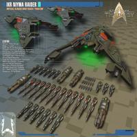 Imperial Klingon Raider NIyma | Star Trek: Theurgy by Auctor-Lucan