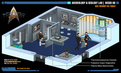 Archeology and Geology Lab   Star Trek: Theurgy by Auctor-Lucan