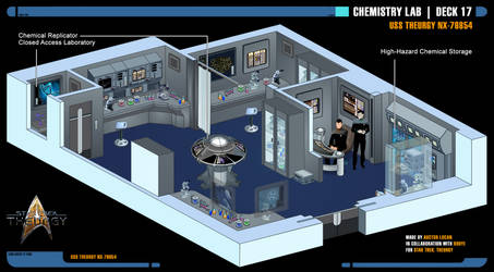 Chemistry Lab   Star Trek: Theurgy by Auctor-Lucan
