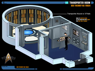 Transporter Room   Star Trek: Theurgy by Auctor-Lucan