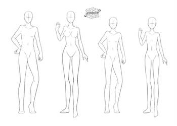 F2U Body Bases by Geminine-nyan