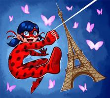 Ladybug Paris by Geminine-nyan