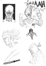 Various sketch by houdjain