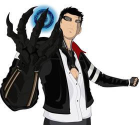 Cyberpunk Character by houdjain
