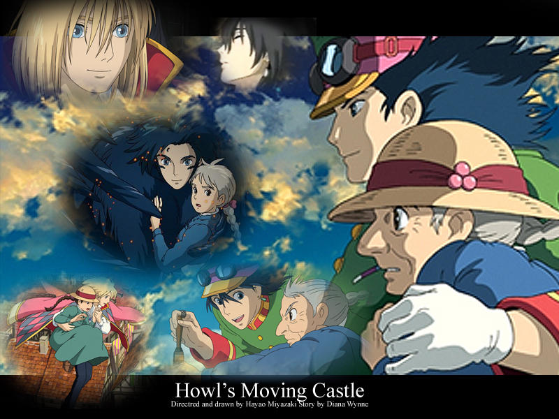 Howls Moving Castle Wallpaper By Deliciouslydemonic