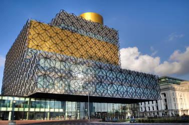 Birmingham City Library HDR by Foxseye