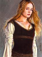 eowyn dress card by charles-hall