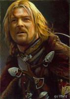 Boromir card 165 by charles-hall