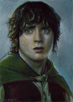 Frodo card 184 by charles-hall