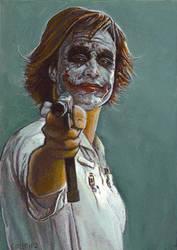 Nurse Joker card 226 by charles-hall