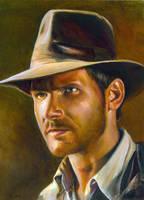 Indiana Jones by charles-hall