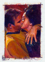 star trek 50th oil sketch 5 by charles-hall