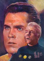 star trek 50th oil sketch 24 by charles-hall