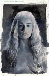 daenerys tonal study by charles-hall