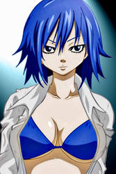 Juvia smile by Dee15gon
