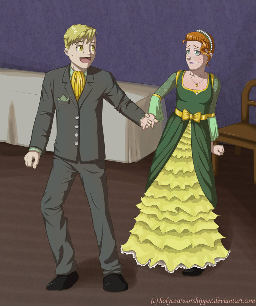 Dance With Me -FMA OC Conest- By HolyCowWorshipper On