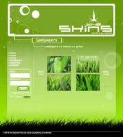 The Skins - Site Web V.1.0 by archnophobia