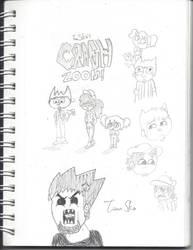 TomSka And Crash Zoom by heathinvader