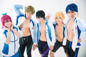 Iwatobi Swim Club by Lilaeroplane