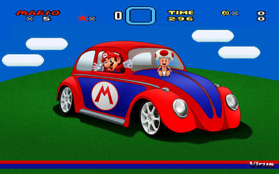 Mario walpp 2 by virus-tuner