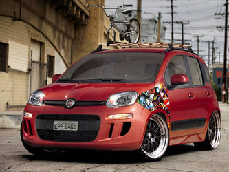 Fiat Panda 2013 by virus-tuner