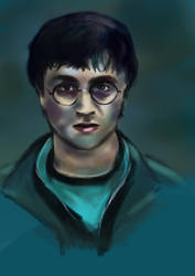 Daily sketch - Harry potter by CarlaJohnston
