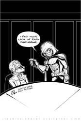 Darth Vader -June '12 Daily Art Jam- Day 24 by JeremiahLambertArt