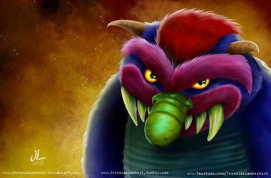 My Pet Monster- Oct 5th '13 Art Jam by JeremiahLambertArt
