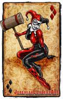 Harley Quinn by JeremiahLambertArt