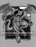 Goliath from Gargoyles by JeremiahLambertArt