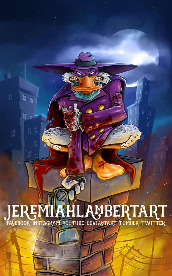 Darkwing Duck by JeremiahLambertArt