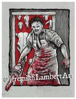 Leatherface by JeremiahLambertArt