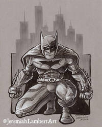 Batman Commission by JeremiahLambertArt