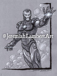 Iron-Man by JeremiahLambertArt