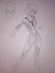 CLINE: KATIE 'PIDGE' HOLT, SPIDER-GIRL. by marcoasalazarm